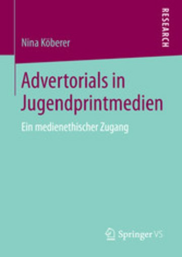 eBook Advertorials in Jugendprintmedien Cover