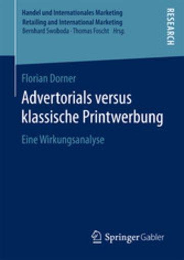 eBook Advertorials versus klassische Printwerbung Cover