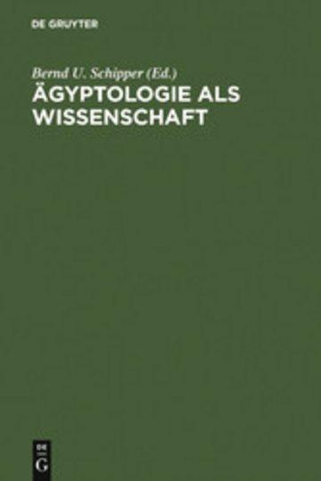 eBook Ägyptologie als Wissenschaft Cover