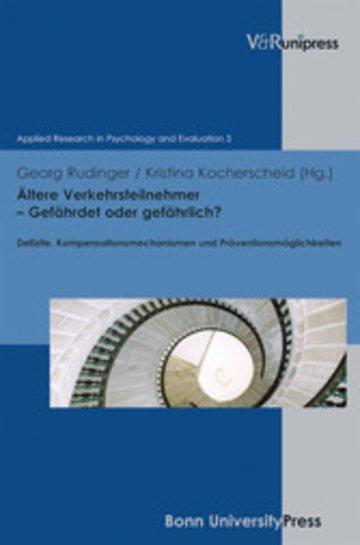 eBook Ältere Verkehrsteilnehmer - Gefährdet oder gefährlich? Cover