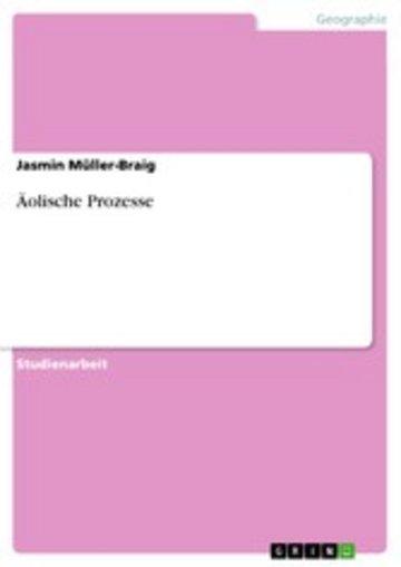 eBook Äolische Prozesse Cover