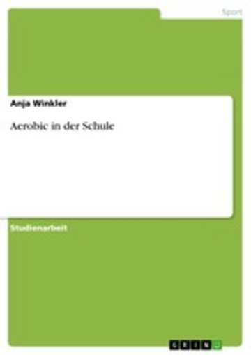 eBook Aerobic in der Schule Cover