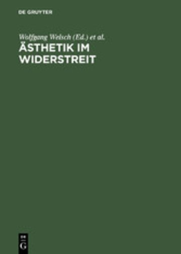 eBook Ästhetik im Widerstreit Cover