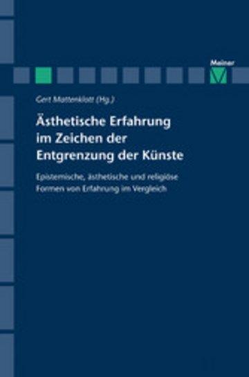 eBook Ästhetische Erfahrung im Zeichen der Entgrenzung der Künste Cover