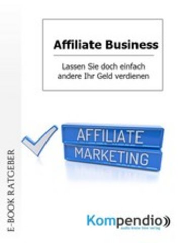 eBook Affiliate Business Cover