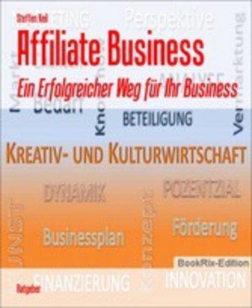 eBook Affiliate Business Cover