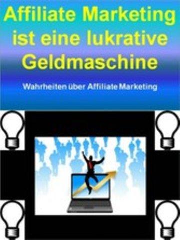 eBook Affiliate Marketing ist eine lukrative Geldmaschine Cover