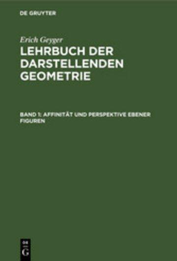 eBook Affinität und Perspektive ebener Figuren Cover