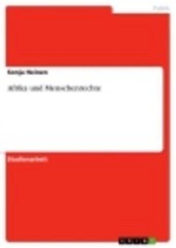 eBook Afrika und Menschenrechte Cover