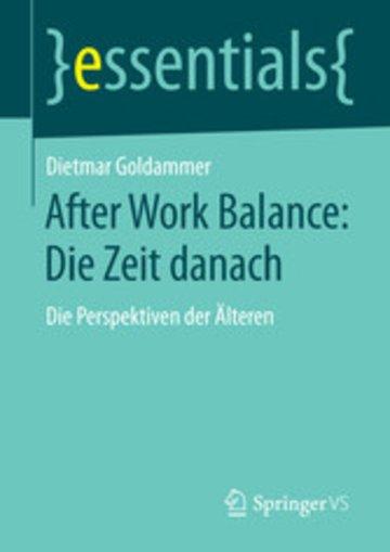 eBook After Work Balance: Die Zeit danach Cover
