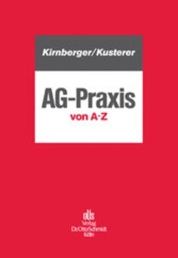 eBook AG-Praxis von A - Z Cover