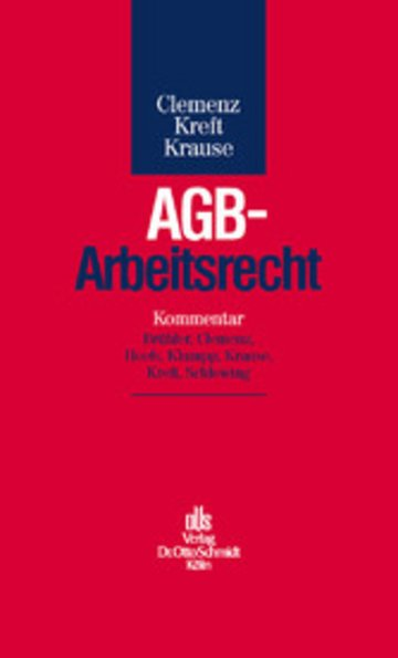 eBook AGB-Arbeitsrecht Cover