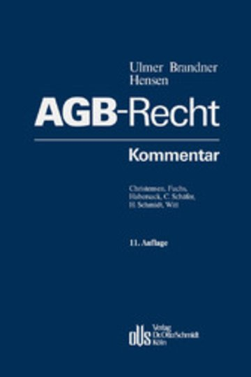 eBook AGB-Recht Cover