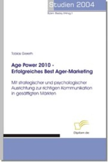 eBook Age Power 2010 - Erfolgreiches Best Ager-Marketing Cover