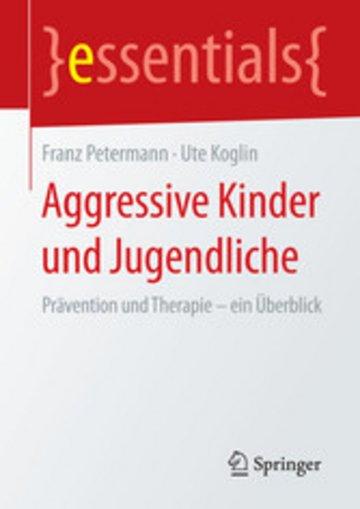 eBook Aggressive Kinder und Jugendliche Cover