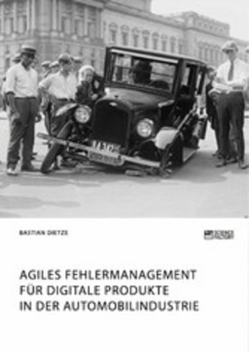 eBook Agiles Fehlermanagement für digitale Produkte in der Automobilindustrie Cover
