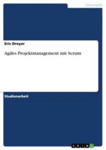 eBook Agiles Projektmanagement mit Scrum Cover