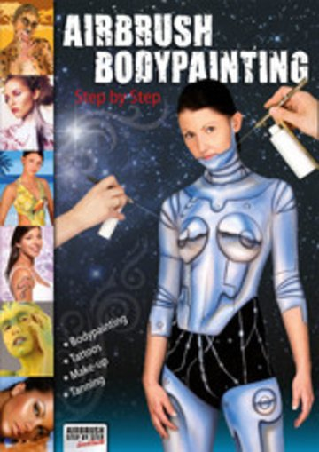 eBook Airbrush Bodypainting Step by Step Cover