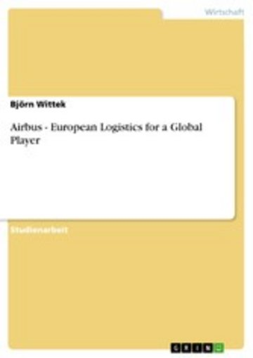 eBook Airbus - European Logistics for a Global Player Cover