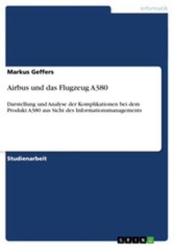eBook Airbus und das Flugzeug A380 Cover