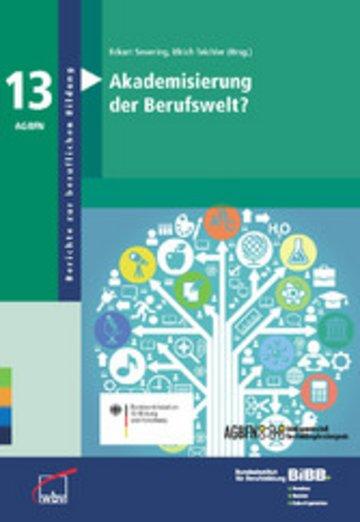 eBook Akademisierung der Berufswelt? Cover