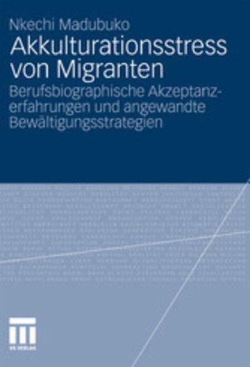 eBook Akkulturationsstress von Migranten Cover