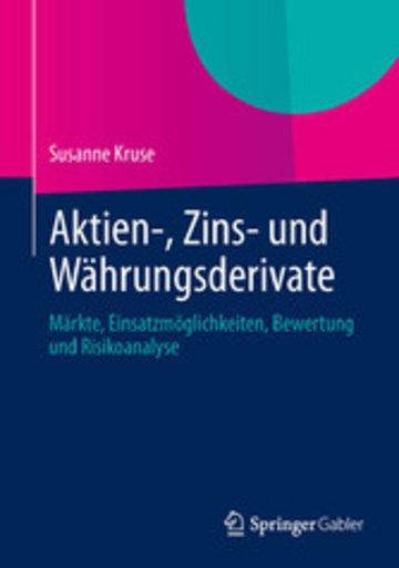 eBook Aktien-, Zins- und Währungsderivate Cover