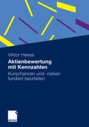 eBook Aktienbewertung mit Kennzahlen Cover