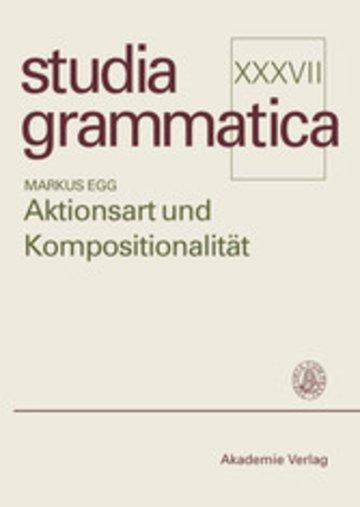 eBook Aktionsart und Kompositionalität Cover