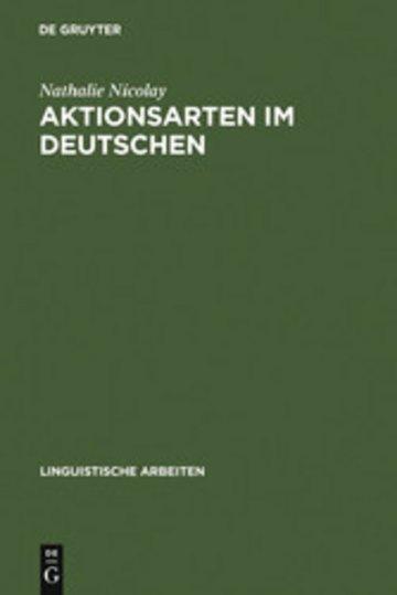eBook Aktionsarten im Deutschen Cover