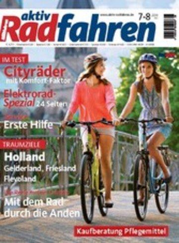 eBook aktiv Radfahren 07-08/2014 Cover