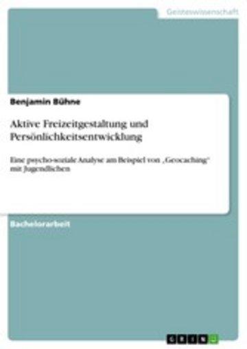 eBook Aktive Freizeitgestaltung und Persönlichkeitsentwicklung Cover
