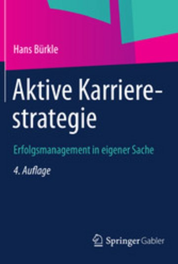 eBook Aktive Karrierestrategie Cover