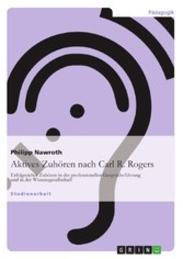 eBook Aktives Zuhören nach Carl R. Rogers Cover