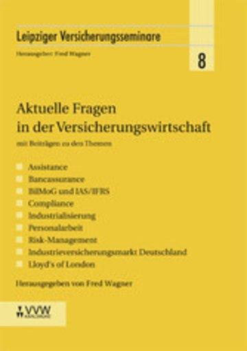 eBook Aktuelle Fragen in der Versicherungswirtschaft Cover