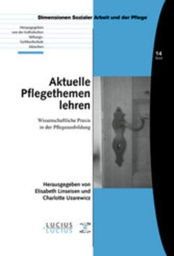 eBook Aktuelle Pflegethemen lehren Cover