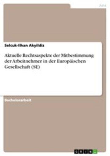 eBook Aktuelle Rechtsaspekte der Mitbestimmung der Arbeitnehmer in der Europäischen Gesellschaft (SE) Cover