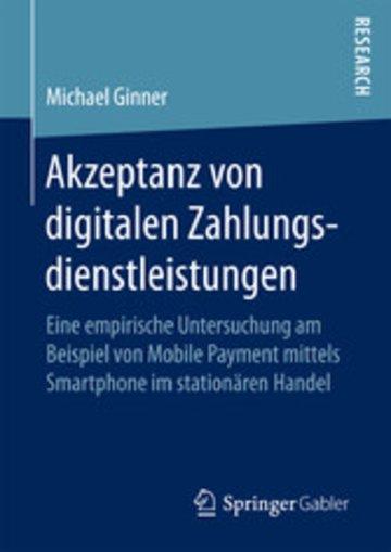 eBook Akzeptanz von digitalen Zahlungsdienstleistungen Cover