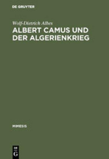eBook Albert Camus und der Algerienkrieg Cover