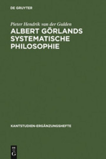 eBook Albert Görlands systematische Philosophie Cover