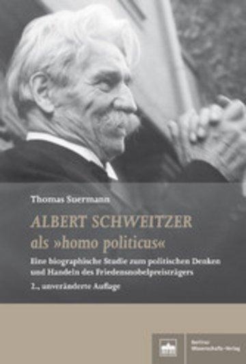 eBook Albert Schweitzer als 'homo politicus' Cover
