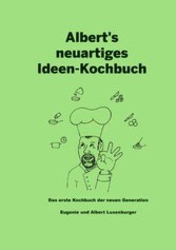 eBook Albert's neuartiges Ideen Kochbuch Cover