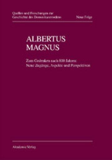 eBook Albertus Magnus Cover
