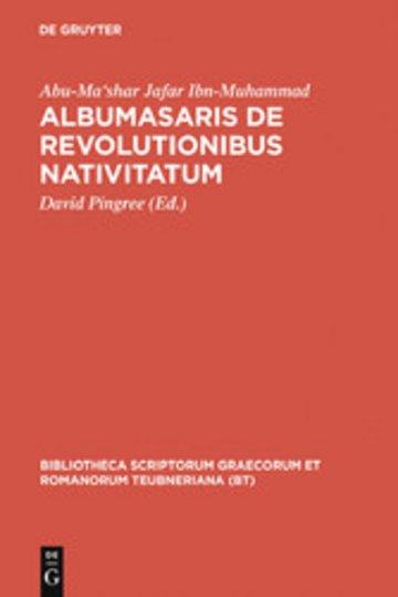 eBook Albumasaris de revolutionibus nativitatum Cover