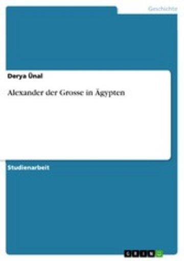 eBook Alexander der Grosse in Ägypten Cover