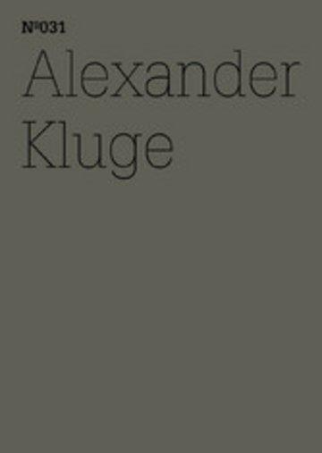 eBook Alexander Kluge Cover