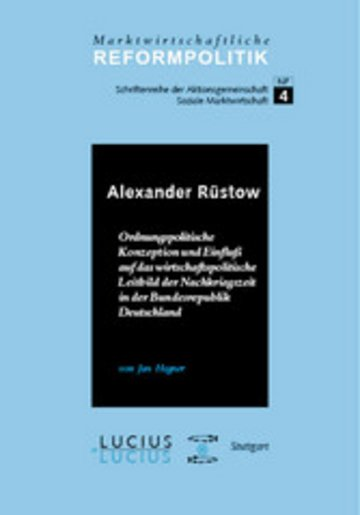 eBook Alexander Rüstow Cover
