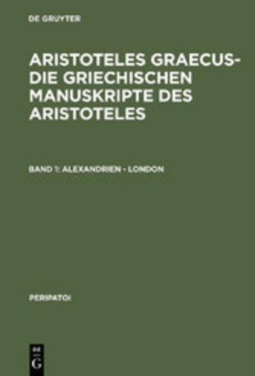 eBook Alexandrien - London Cover