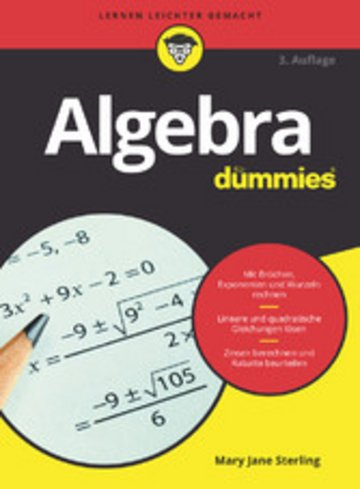 eBook Algebra für Dummies Cover