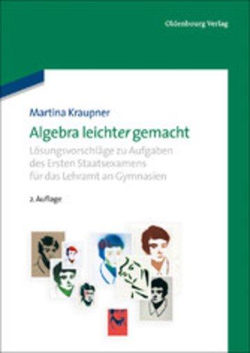 eBook Algebra leicht(er) gemacht Cover
